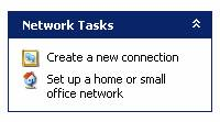 In Control Panel, double click Network Connections